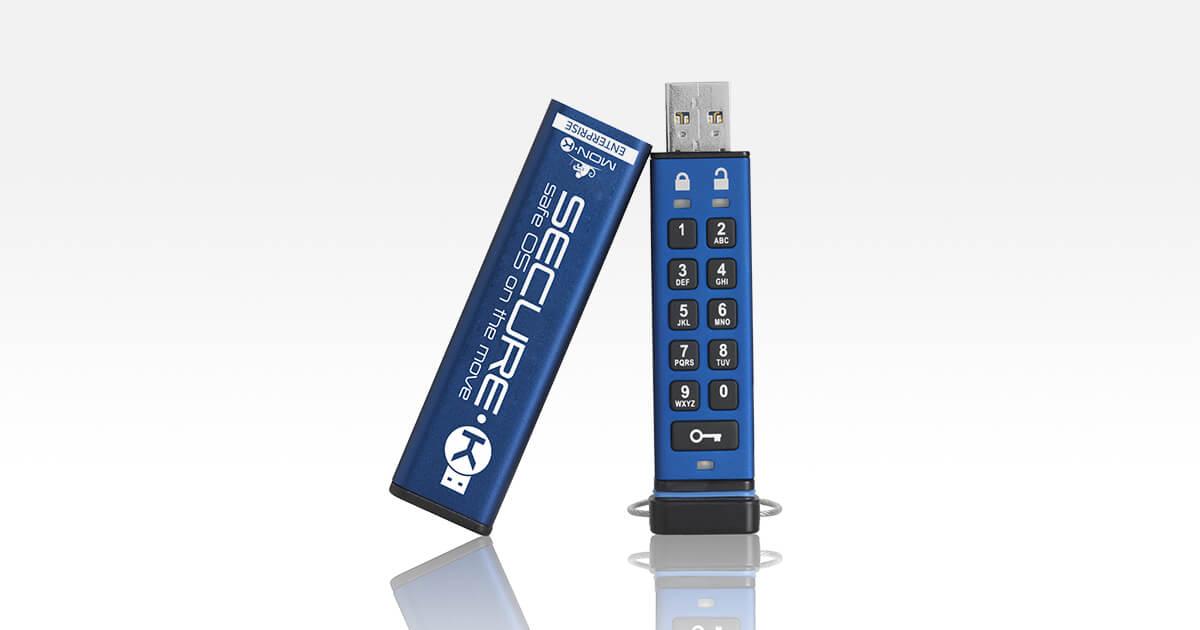 Secure-K chiavetta super-sicura con codice di sblocco stile cassaforte