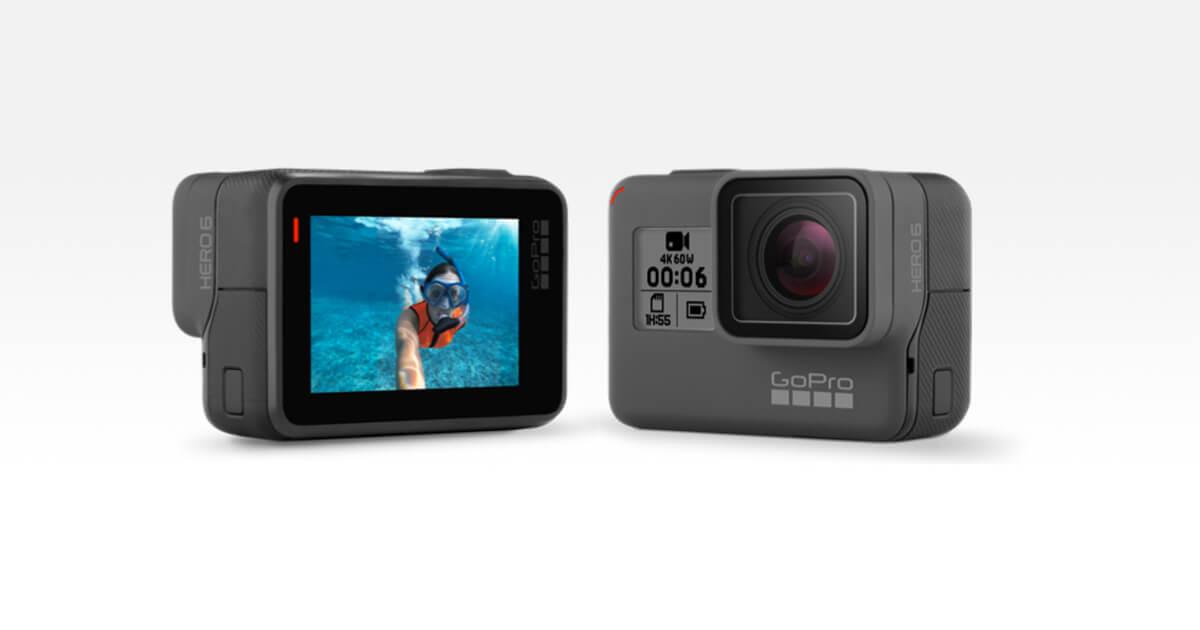 GoPro Hero6 Black: caratteristiche tecniche