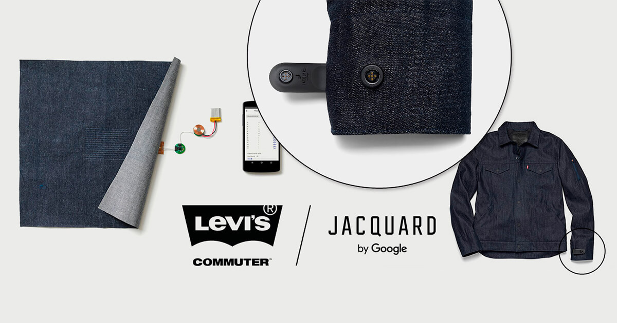 Giubbotto smart di Levis e Google