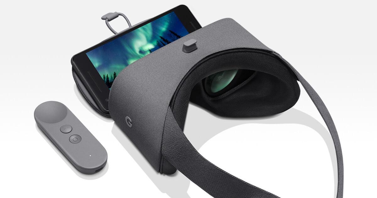Nuovo Daydream View per la realtà virtuale