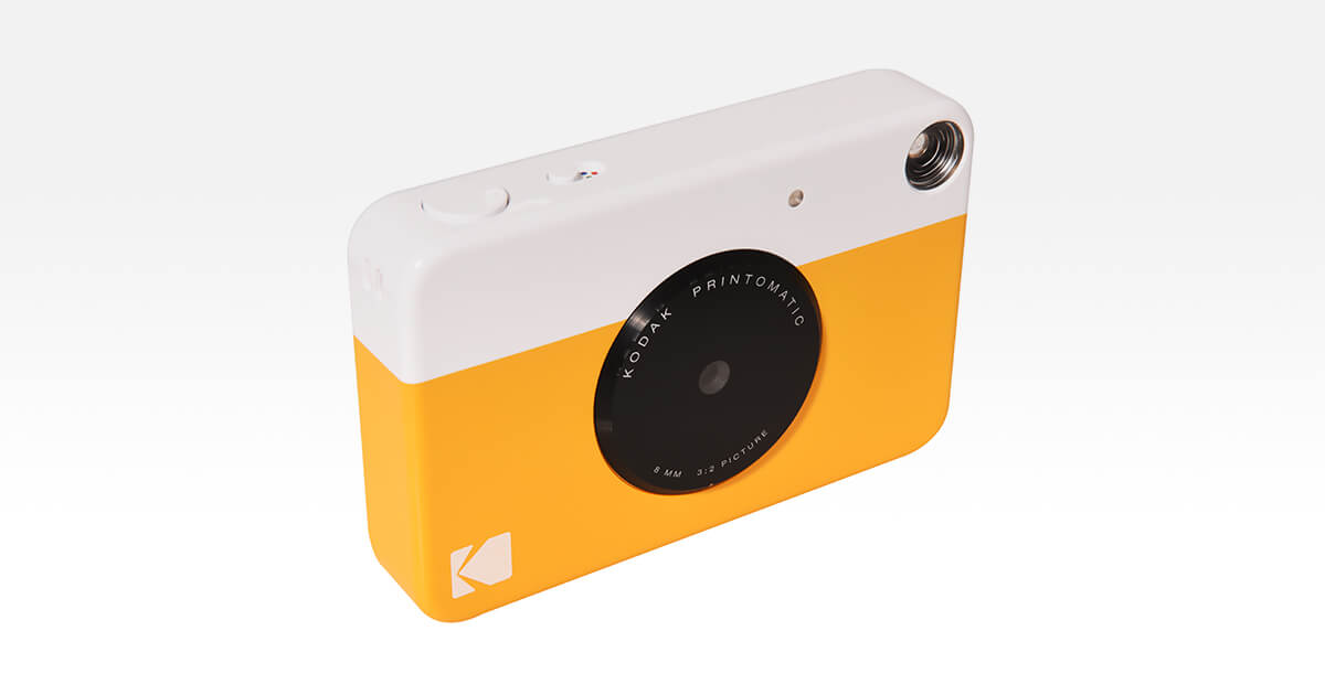 Kodak Printomatic fotocamera istantanea digitale e analogica