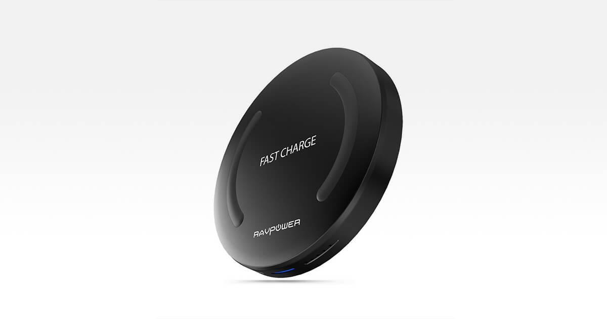 Caricatore wireless Qi compatibile con iPhone 8 e iPhone X