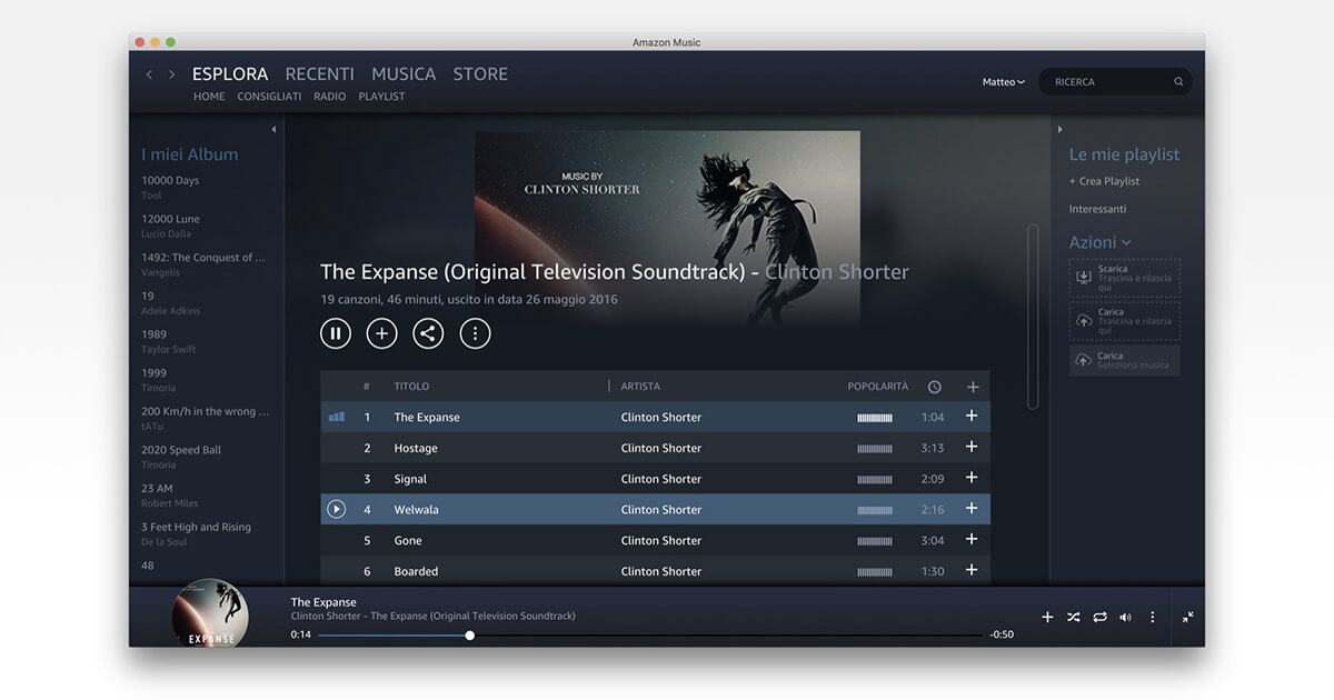 Amazon Music Unlimited, servizio di musica in streaming di Amazon