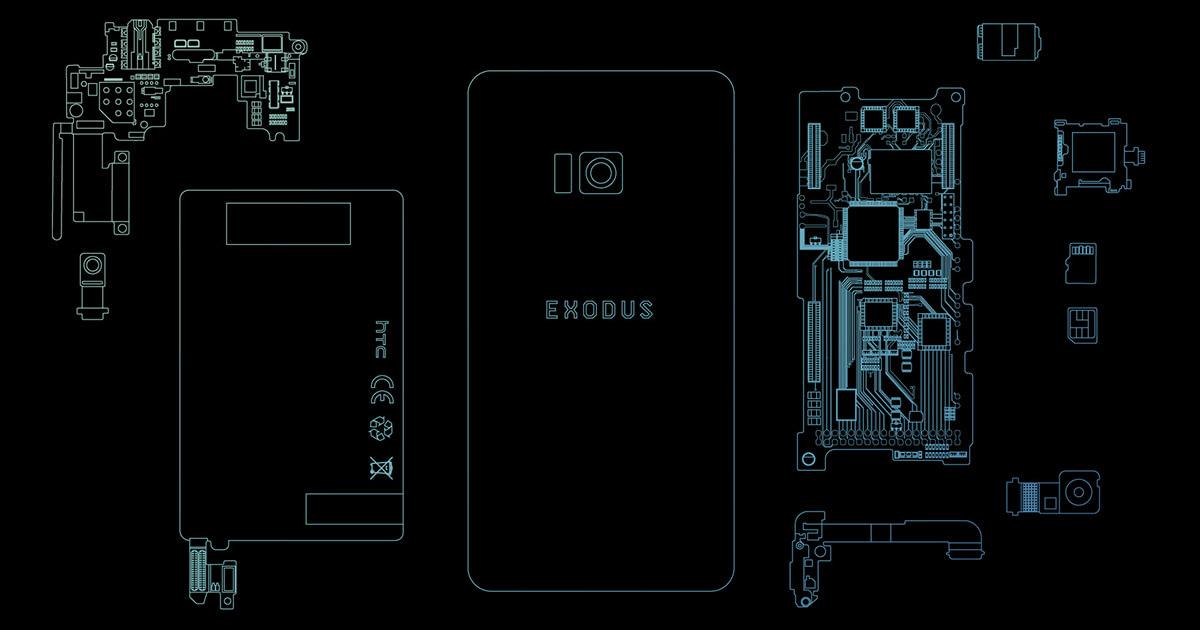 HTC Exodus, telefono con blockchain integrata